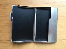 商务名片卡夹 办公室用 不锈钢 全开 (企业定制)