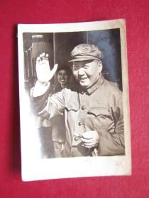文革照片:毛主席檢閱紅衛兵