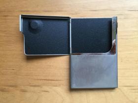商务名片卡夹 办公室用 不锈钢 半开 (企业定制)