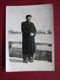 文革照片:毛主席在北戴河.