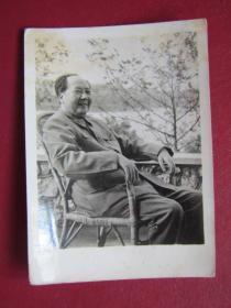 文革照片:毛主席在廬山