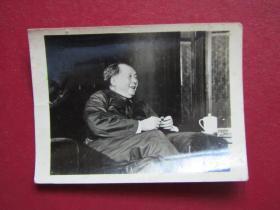 文革照片:毛主席接見外賓