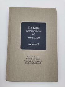 the legal environment of insurance volume II