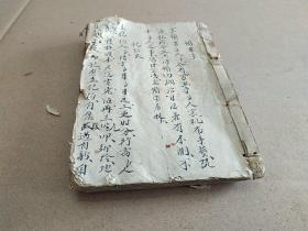 The manuscripts of the chief gents and gentlemen in Jiangxi must be handwritten, and various legal documents such as the lawsuits, pawns, tombs, bans on arrests, arrests, crimes, and wills, and other folk documents are rich in content, diverse and valuable.