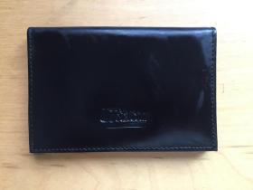 商务名片卡夹 牛皮 黑色 (企业定制)