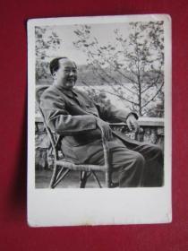 文革照片:毛主席在廬山.