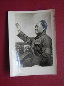 文革照片:毛主席檢閱紅衛兵.