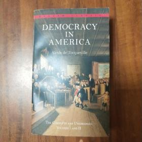 Democracy in America:The Complete and Unabridged Volumes I and II