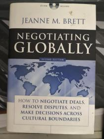 Negotiating Globally: How To Negotiate Deals Resolve Disputes And Make Decisions Across Cultural Boundaries 全球谈判 : 如何通过谈判解决争端和跨文化边界做出决定 英文原版 有光盘