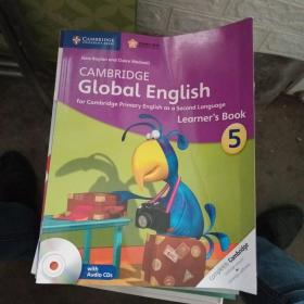 Cambridge Global English  Learners   BOOK 5(有2张光盘)