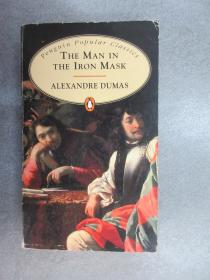 英文书《THE MAN IN  THE  IRON  MASK   ALEXANDRE   DUMAS》 36开  详见图片