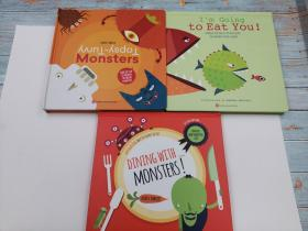 dining with monsters/ i'm going to eat you /monsters  三本合售