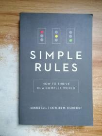 Simple Rules:How To Thrive In A Complex World