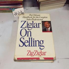 英文原版:ziglar on selling 精装