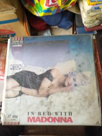 LD 大白胶唱片 in bed with madonna