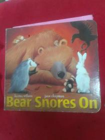 Bear Snores On (The Bear Books,Board book)狗熊睡着了(卡板书)