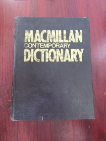 macmillan contemporary dictionary