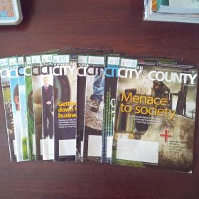 AMERICAN CITY & COUNTRY(2012年,1、2、4~12期,11册合售)