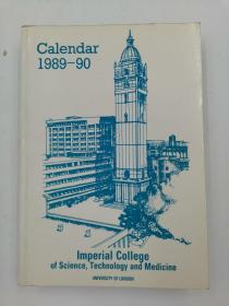 calendar 1989-90 imperial college of science technology and medicine