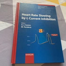 英文原版 heart rate slowing by if current inhibition 心率减慢电流的抑制作用