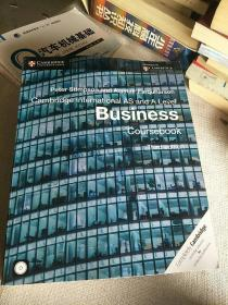 现货进口原版剑桥大学出版社Cambridge International AS and A Level Business Coursebook 学生书