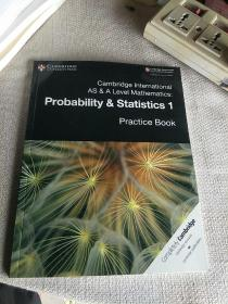 现货进口原版剑桥大学出版社Cambridge International AS & A Level Mathematics Probability & Statistics 1 PracticeBook练习册