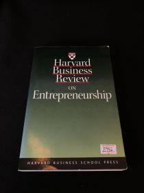 HARVARD BUSINESS REVIEW ON ENTREPRENEURSHIP