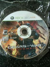 XBOX 360 GEARS OF WAR JUDGMENT(游戏光盘)