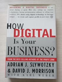 How Digital Is Your Business?【精装 自然旧】