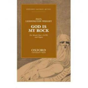 【进口原版】God is my rock: Vocal score