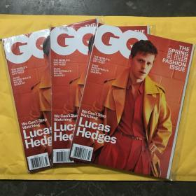 GQ us 2019年3月 Lucas hedges