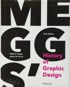预订 Meggs′ History of Graphic Design   英文原版