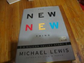 THE NEW NEW THING MICHAEL LEWIS <<外文精装本>>品好