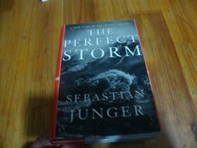THE PERFECT STORM SEBASTIAN JUNGER <<外文精装本>>品好
