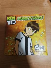 Ben Ten - A Summer of Surprise (英文版漫画书 16开薄册)