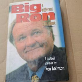 Big Ron: A Different Ball Game(Ron Atkinson 签赠本)