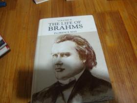 THE LIFE OF BRAHMS FLORENCE MAY<<外文精装本>>品好