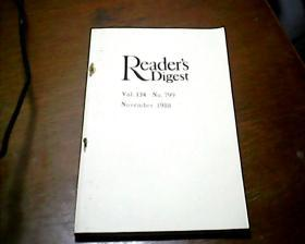 Reader's Digest1988 NO.799