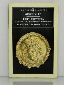 埃斯库罗斯戏剧精选集 Aeschylus The Oresteia:Agamemnon, The Libation Bearers, The Eumenides (古希腊戏剧)英文原版书