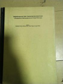 二十世紀思想家的生平,書目與評述辭典【英文】