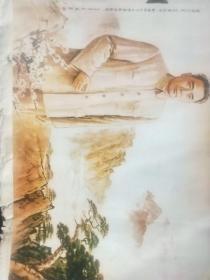 蒋兆和《总理为人民人民爱总理心境》