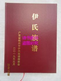 伊氏族譜——廣東省梅州市伊氏族譜編委會2019年版
