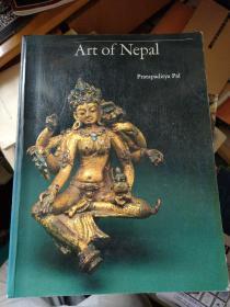 Art of Nepal 洛杉磯郡博物館 館藏 尼泊爾藝術 1985年,英文原版