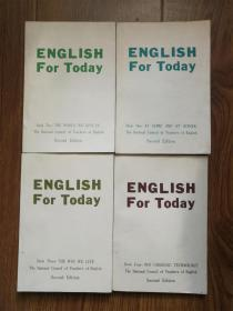 ENGLISH For Today(4册全)