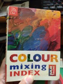 英文 COLOUR mixing INDEX