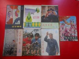 遼寧青年 7冊合售【1980年第1、5、6、7、8期,1982年第9、15期】