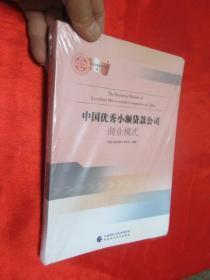 中國優秀小額貸款公司——商業模式      【 16開,軟精裝】,全新未開封