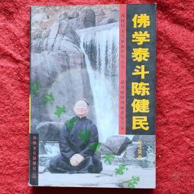 《佛學泰斗陳  健民》陳浩望著32開353頁