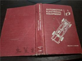原版英法德意等外文 AUTOMOTIVE ELECTRICAL EQUIPMENT/william h. crouse  MCGRAW-HILL BOOK  小16开硬精装