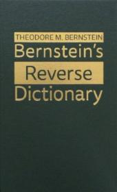 Bernsteins Reverse Dictionary